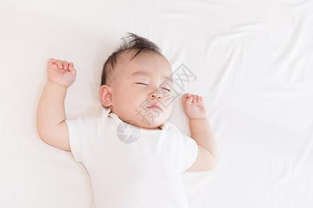 熟睡的婴儿图片