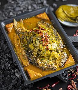 酸菜烤鱼图片