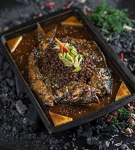 豆豉烤鱼图片