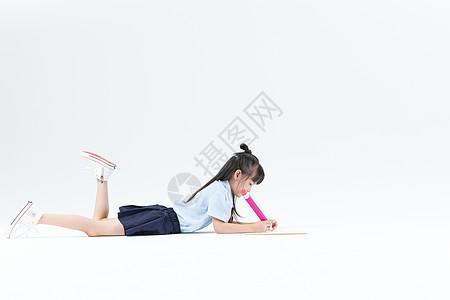 儿童画画写字图片