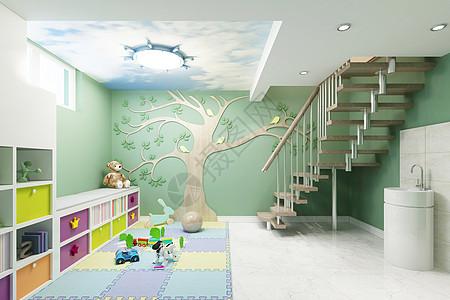 幼儿园教室效果图图片