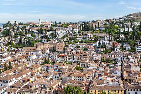 西班牙格林纳达城市景观图片