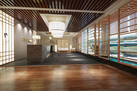 中式大厅图片