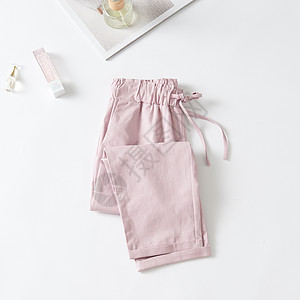女士休闲裤图片