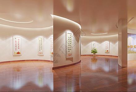 博物馆参展区背景图片