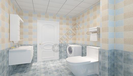 简约风格的卫生间图片