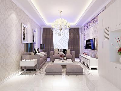 简约风格的客厅图片