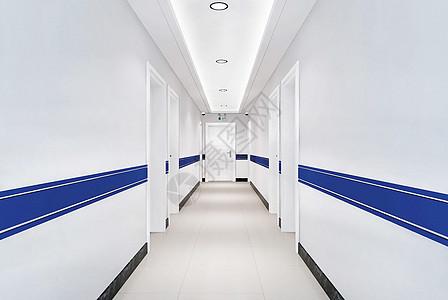医院走廊背景图片