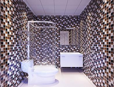 简约卫生间背景图片