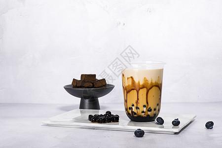 奶茶制作图片