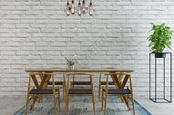 现代简约饭厅图片