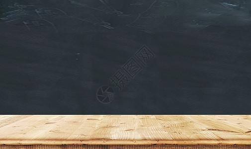 桌面黑板墙背景图片