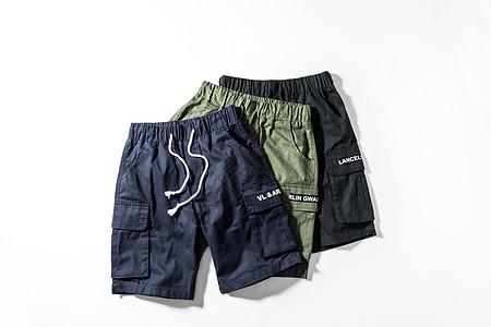 男士休闲短裤图片