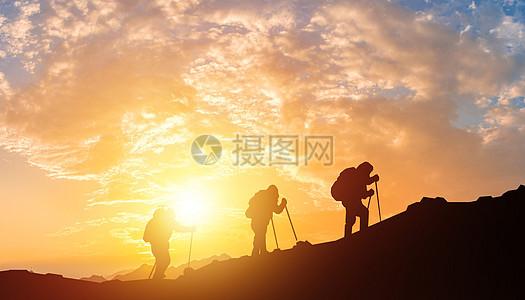 团结登山图片