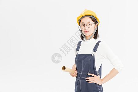 女性工程师图片