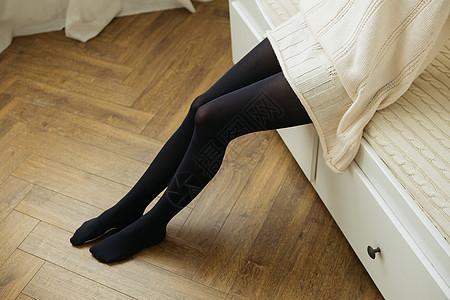 女士连裤袜图片