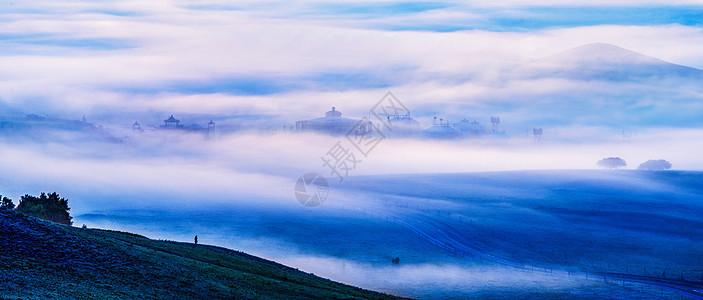 仙境般的雾景图片