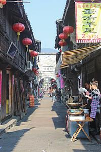 浙江台州临海紫阳古街图片