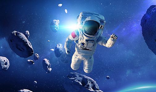 外太空宇航员图片