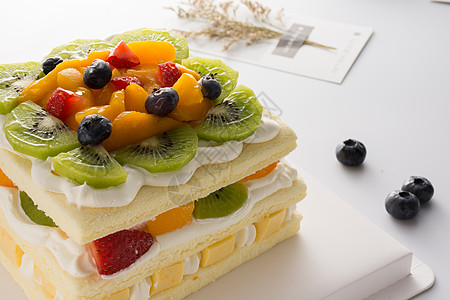 水果生日蛋糕图片