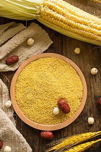 谷物黄小米图片
