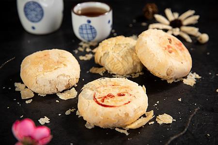 中秋节苏式月饼图片