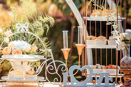 婚礼蛋糕点心茶歇图片