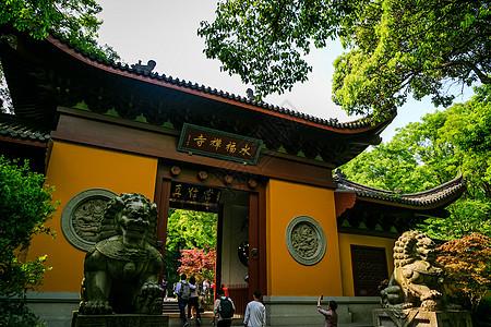 杭州灵隐寺图片
