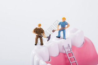 牙齿护理图片
