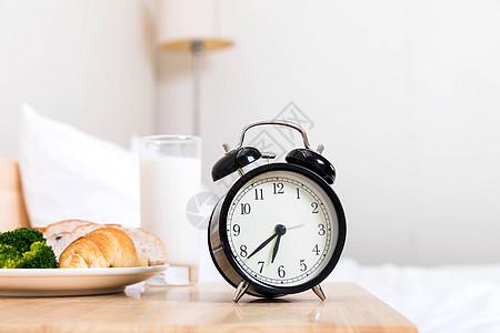 家居早餐早安图片