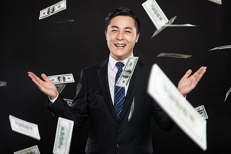 商务男性金融图片