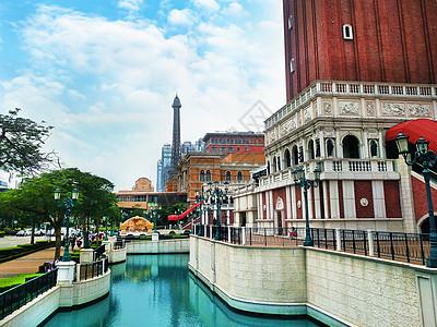 澳门威尼斯人度假酒店风情建筑仿威尼斯水城旅游图片