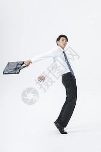 商务男性上班公文包图片