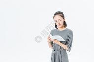 文艺青年阅读图片