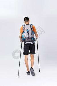 登高远足徒步旅行图片