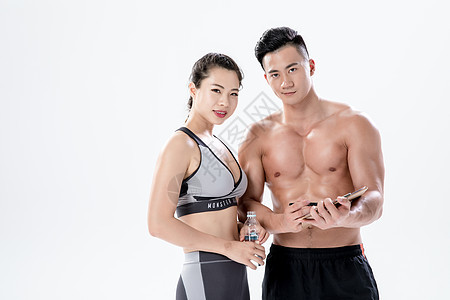运动健身教练指导图片