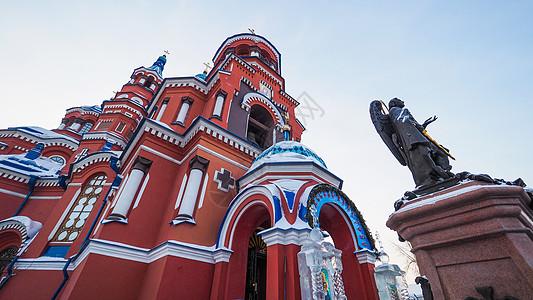 俄罗斯伊尔库茨克喀山大教堂图片