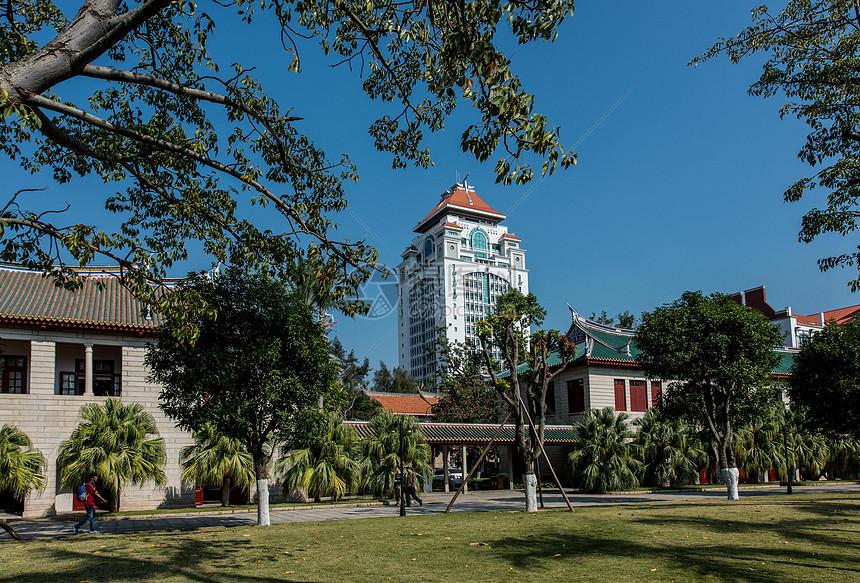 厦门大学颂恩楼图片
