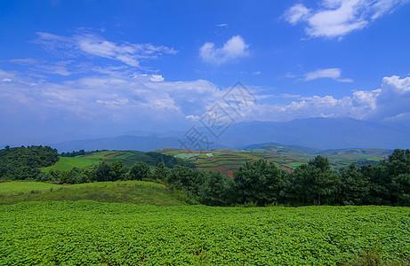 云贵高原山脉图片