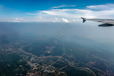 高空俯瞰大地图片