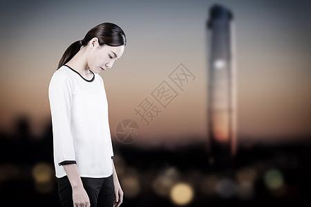 孤独的人图片