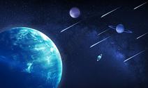 宇宙科幻背景图片
