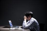 职业男性加班压力501036444图片