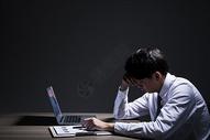 职业男性加班压力501036453图片