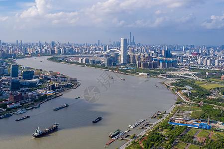 上海东方明珠陆家嘴城市夜景图片