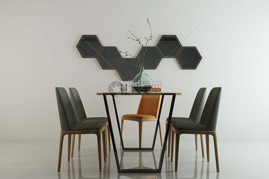 现代餐桌图片