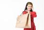 青春美丽女性购物图片