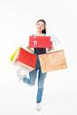 青春大学生购物抱礼盒501037403图片