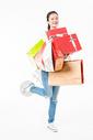 青春大学生购物抱礼盒501037410图片