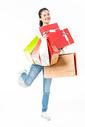 青春大学生购物抱礼盒501037412图片